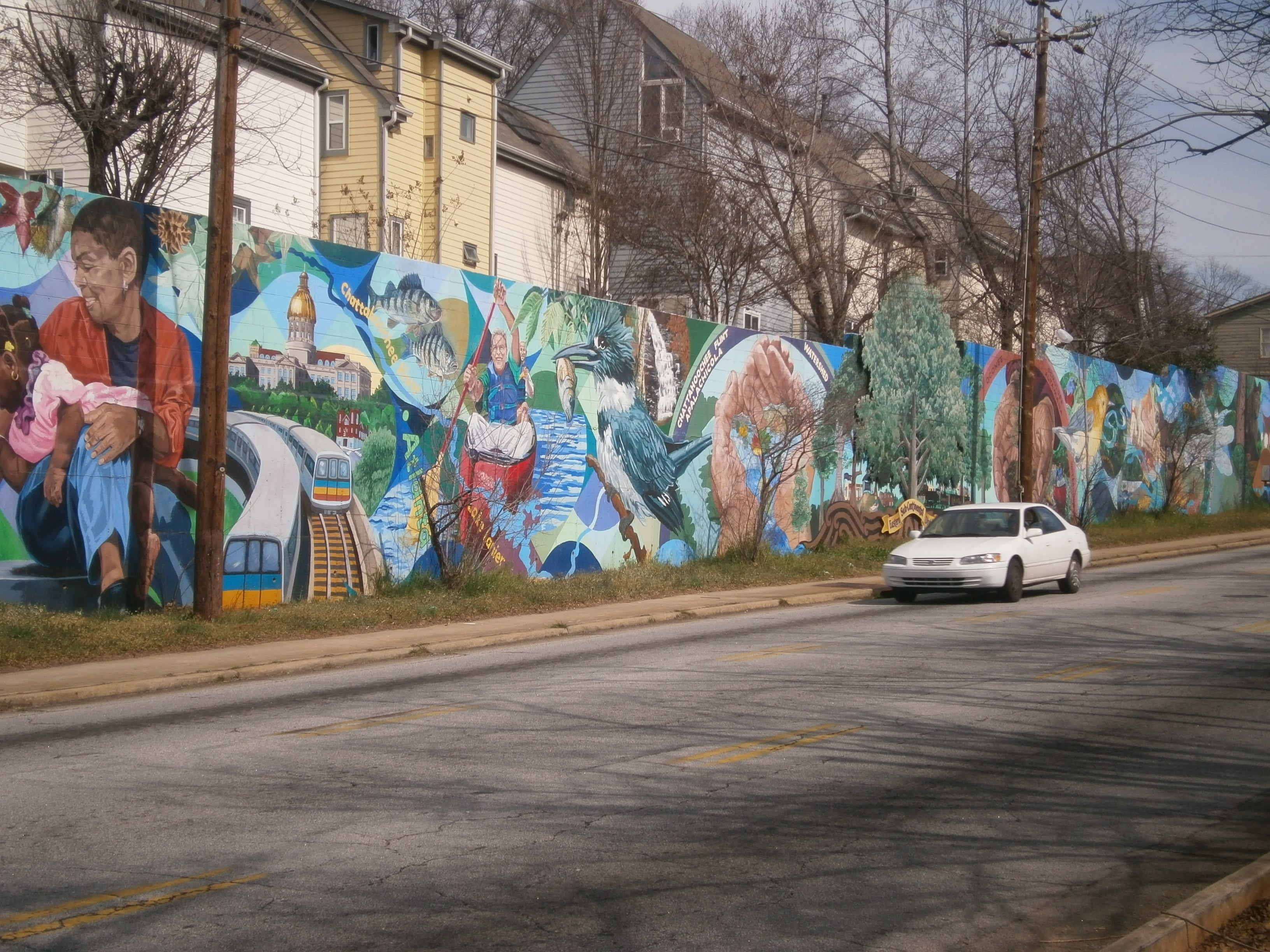 Atlanta murals vickie martin conison for A perfect day mural