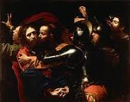 The Taking of Christ, Carravagio, The National Gallery of Ireland
