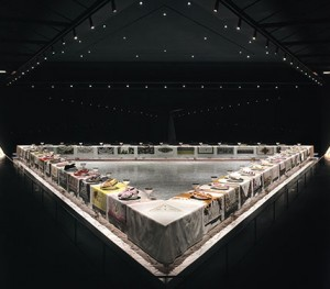 The Dinner Party by Judy Chicago 1939-