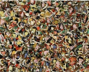 I Need Art and Coffee by Lee Krasner 1908-1984