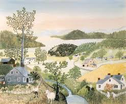 Garden of Praise by Grandma Moses 1860-1961