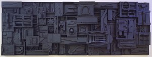 Sky Cathedral by Louise Nevelson 1899-1988
