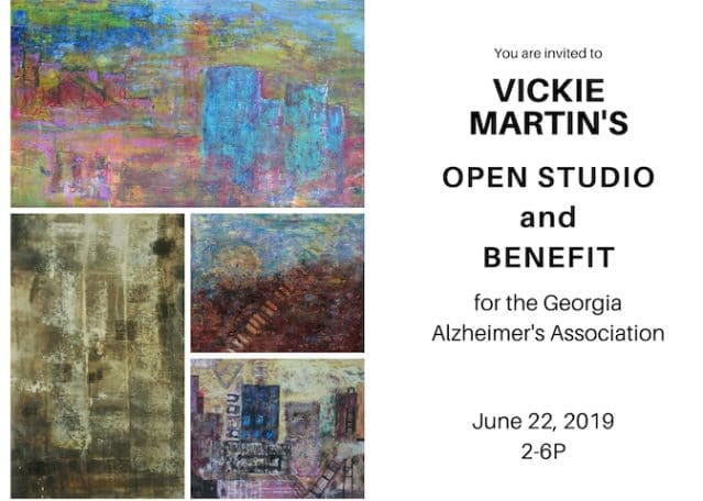 Open Studio postcard
